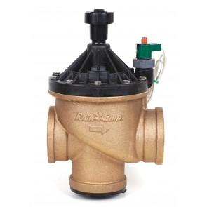 """Válvula para Irrigação 3"""" - híbrida (plástico/metal) - entrada ângulo/globo - 300-BPE-S"""