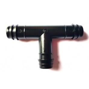 Tê Dentado para Tubo PEBD 12x12x12mm - T12