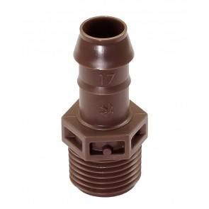 "Adaptador para Tubo Gotejo ½""x17mm - XFDMA050"